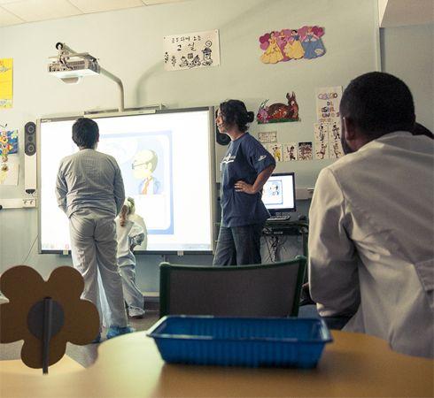 canal educa en hospitales