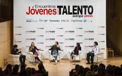 Encuentro Jóvenes con Talento Casos de éxito en RRSS