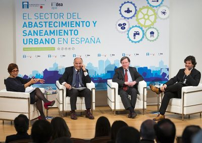 """PRESENTACIÓN DE LOS RESULTADOS DEL ESTUDIO """"El sector del abastecimiento y saneamiento urbano en España"""""""