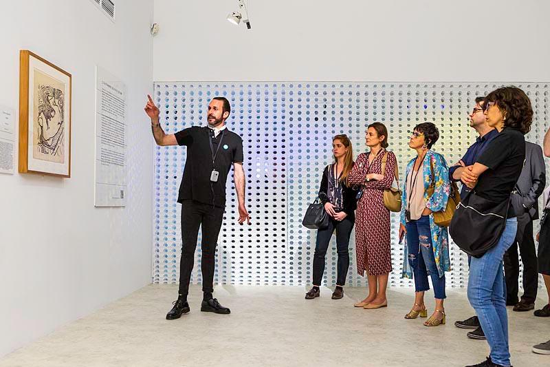 Visitas guiadas a las exposiciones
