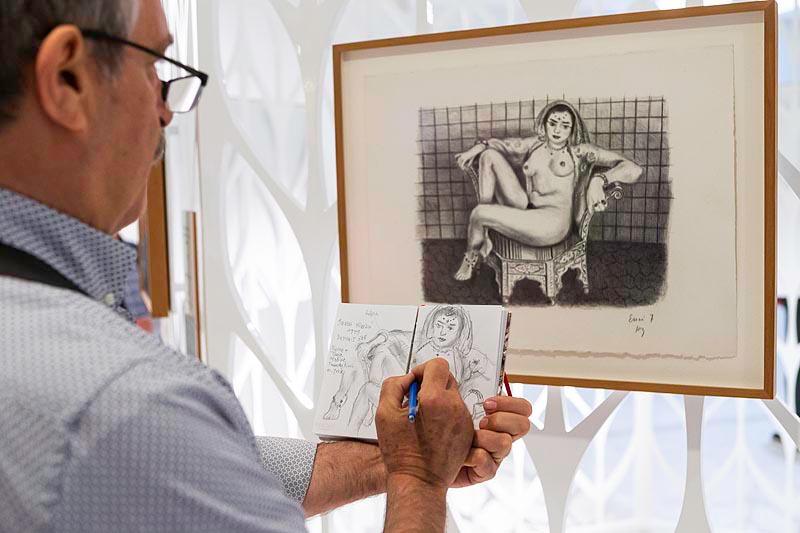 Matisse grabador. Obras de The Pierre and Tana Matisse Foundation