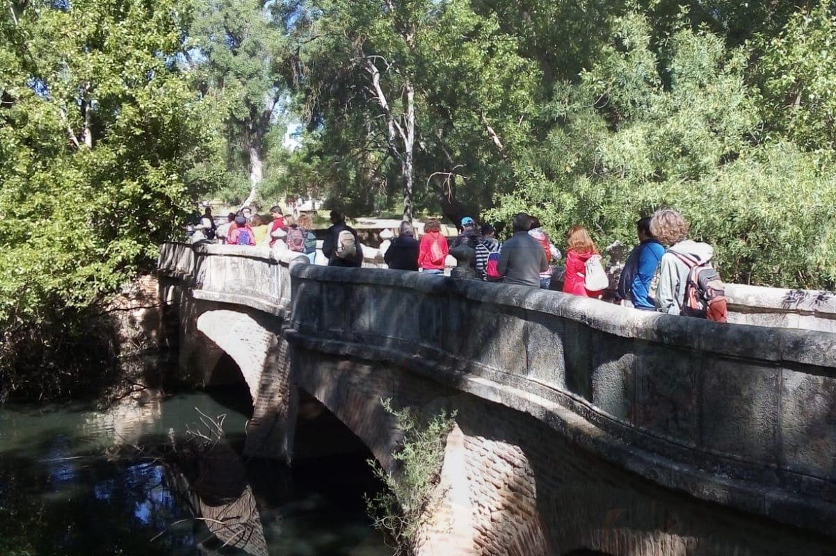Caminar el agua con la Fundación Canal