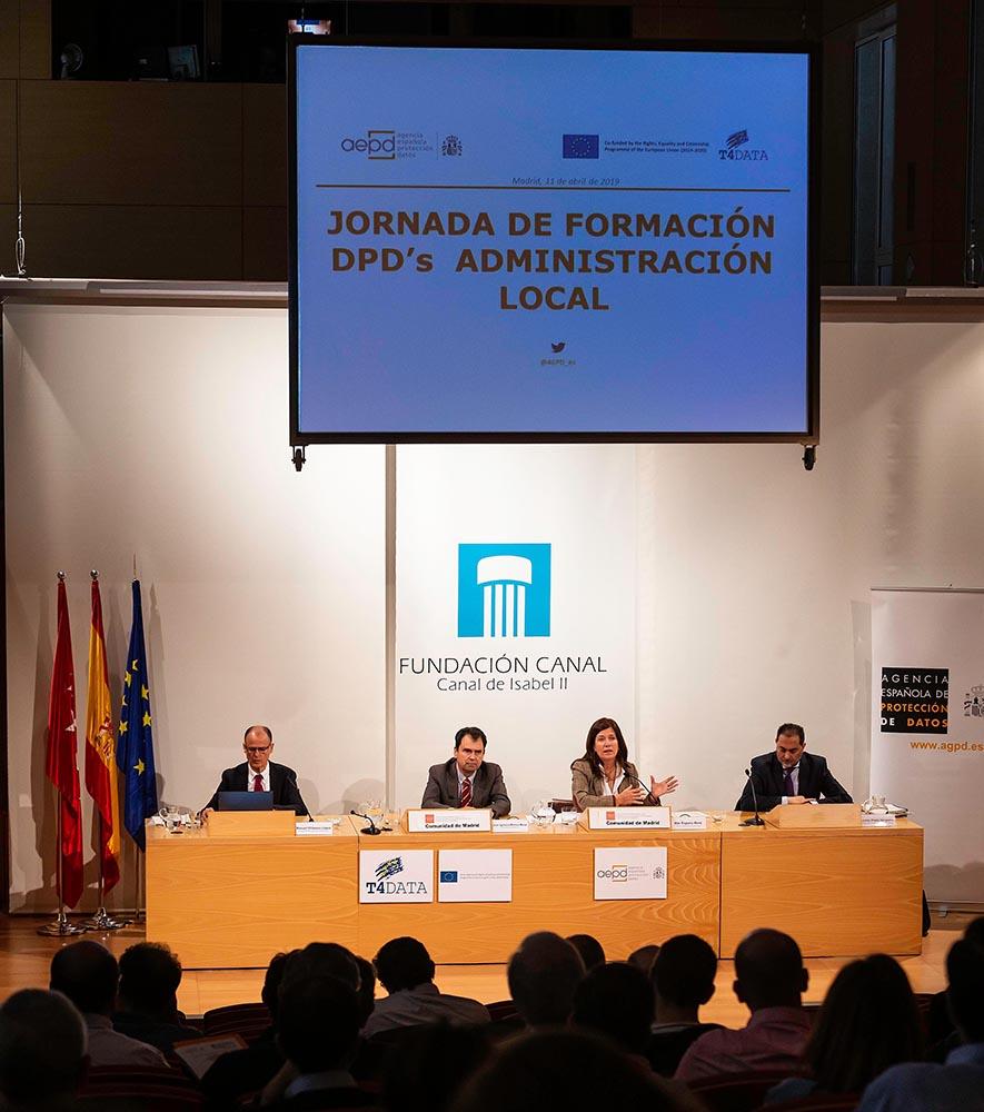 Jornada de Formación Delegado de Protección de Datos en la Administración Local