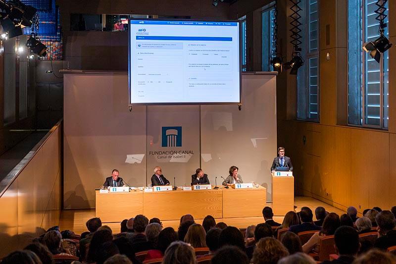 Asamblea General de la Asociación Española de Fundaciones (AEF) y Presentación de herramienta de autoevaluación de transparencia