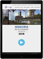 Memoria de actividades de Fundación Canal 2018